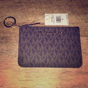 NWT Michael Kors Keychain Wallet